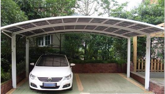China supplier free standing aluminium carport garages car for Free standing garage
