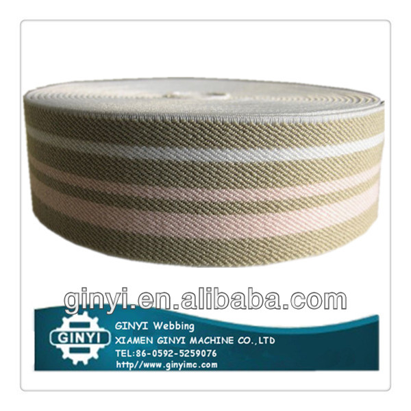 Functional strong knitted polyester elastic band for garment