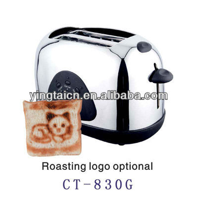 electric bread toaster electric 2 slices logo toaster 2 slices taoster with plastic vocer