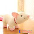 Hot sale 1pc 35cm cartoon smile naughty pig plush doll hold pillow animal stuffed toy children