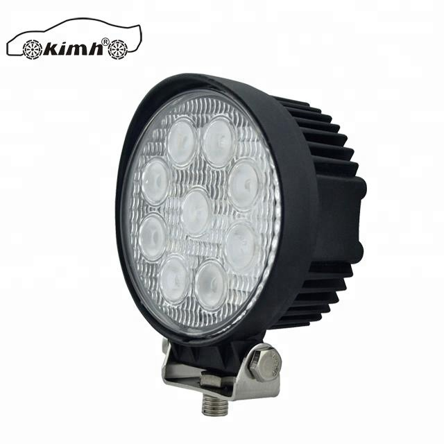 China Auto Parts 27 W mercado de gama alta IP67 LED luz de trabajo