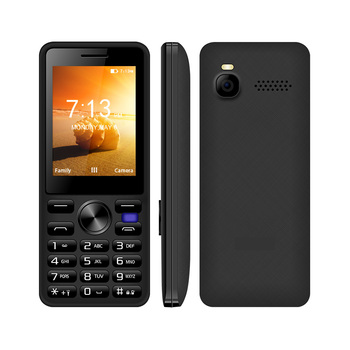 Factory Oem 2.4 Inch Facebook/Twitter Android OS Dual Core 4G Mobile Phone Support VoLTE