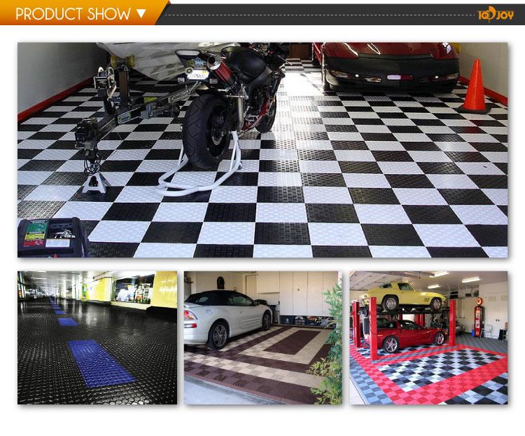 Pvc pavimenti in piastrelle di blocco per garage buy