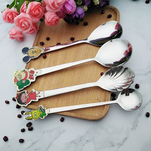 wholesale china merchandise flatware utensils honey sugar tea spoon coffee scoop stainless steel coffee spoon