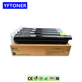 YFTONER DCC2020 Color Toner Cartridge for Xeroxs DocuCentre C2020CP 2020DA Copier Parts DCC2020CP DC C2020DA Photocopy Machine