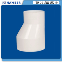 HAMBER--61109 pvc reducing coupling 4 inch to 3-1/2
