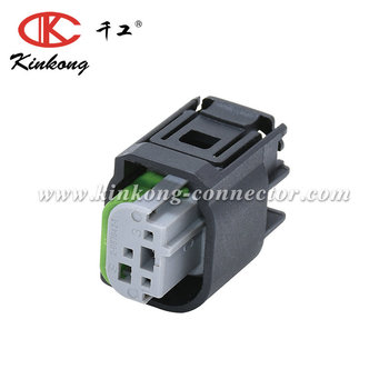 3 Pin receptacle AUDI connector 2-967642-1 1J0 972 483 A 8E0971934 WPT-1162 (Tin (greased)) 3U2Z-14S411-CCB