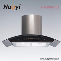 european style remote control rang hood /kitchen used range hoods NY-900A132/exhaust fan for kitchen
