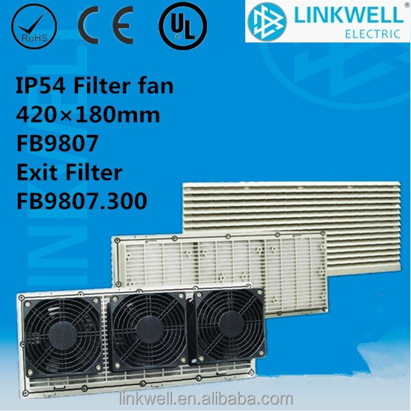 universal water-proof/dust proof fan powered hepa filter