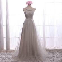 Длинное белое шифоновое платье подружки невесты с кристаллами, модные розовые вечерние платья, реальные образцы, 2019(Китай)