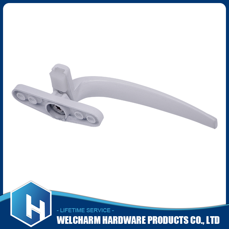 High quality window door accessories white color right sliding window handles