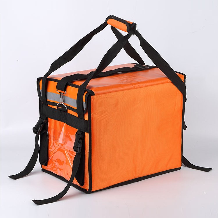62L  Heat preservation large capacity food Delivery bike bag waterproof bicycle bags
