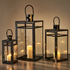 metal chinese large moroccan lantern black
