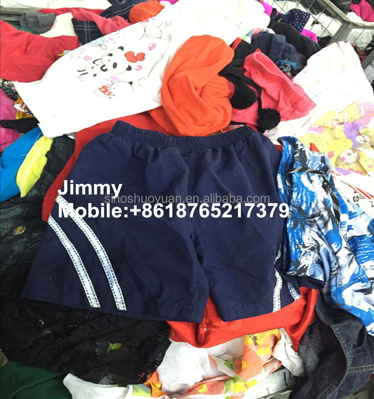 Mixed and sorted china used clothes sale fast in bales