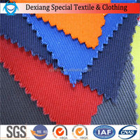 100% cotton fire resistant /flame retardant fabric for oil and gas industry