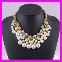 K6141 High quality wholesales fashion pearl necklace costume jewelry