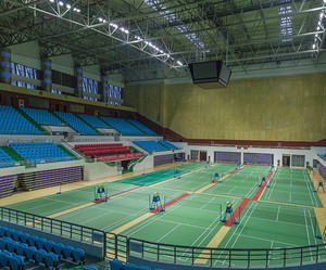 Badminton Sport BWF approved badminton high quality court floor