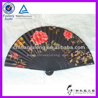 Personalized paper manual hand fan
