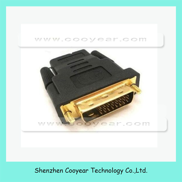 24+1 DVI Male to HD Female M-F HD DVI Adapter Converter convertor For HDTV
