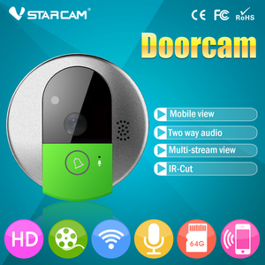 New Design VStarcam C7895WIP HD Visual Doorbell Wifi Peepholes Digital for Doors