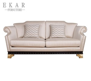 Italian white leather sofa reclining manufacturers / upholstered sofa