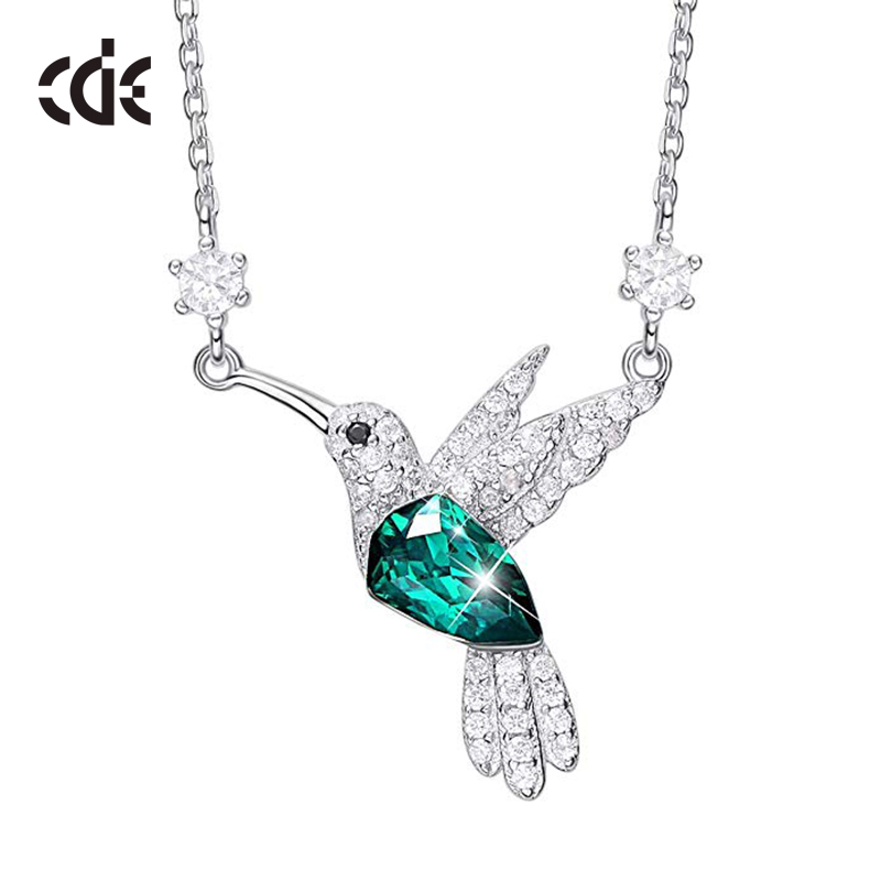 2019 Women Fashion Jewellery Custom Bird Necklace <strong>Silver</strong> 925