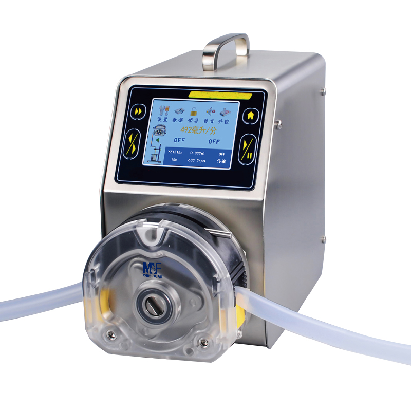 MedFuture Lab Dispensing Pump LCD Touch Screen Peristaltic Pump for Filling and Packing