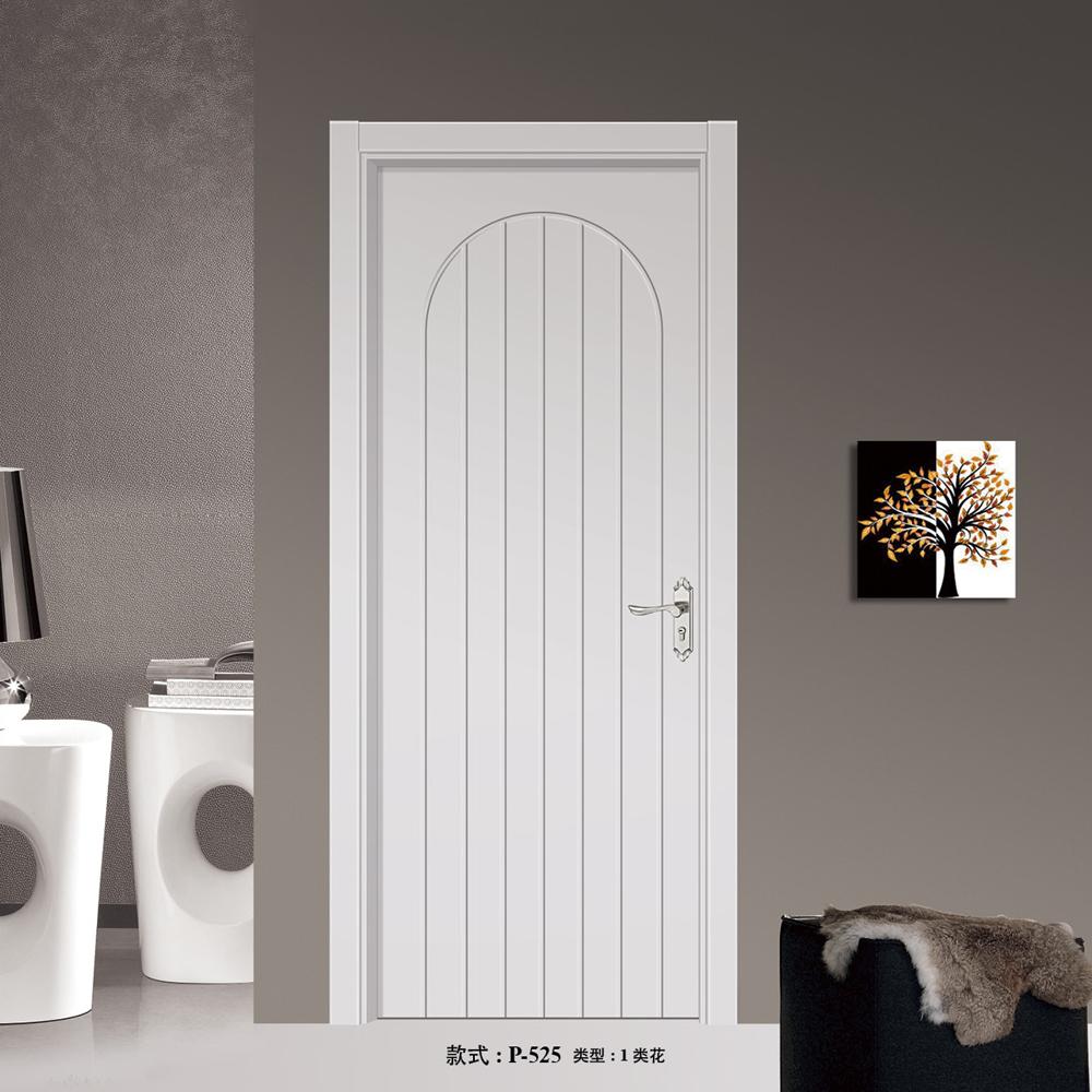 Peint blanc en bois chambre conception de la porte hdf stratifié ...