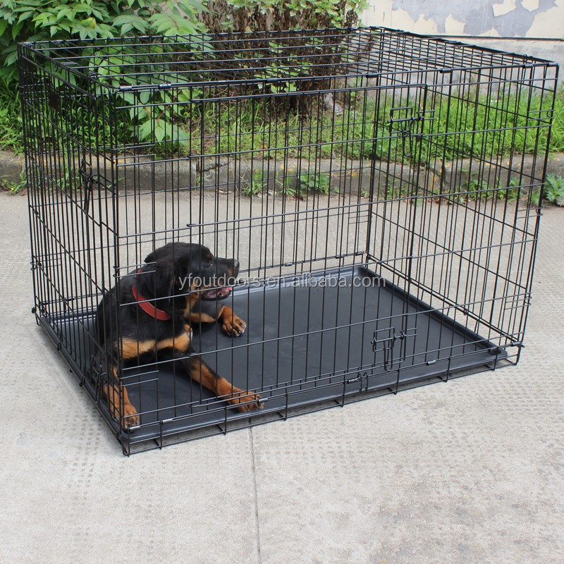 Well-suited modular stainless steel dog cage