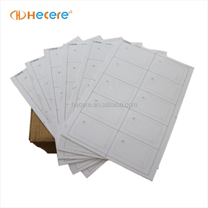 A4 Paper/PVC/PET RFID Card/Inlay/Ticket/Tag For Reprocessing