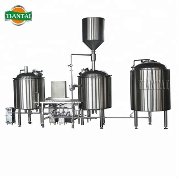 Used 3 Barrel Brewing System For All Kinds Of Beers