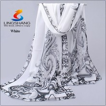hijab womens tops fashion 2016 spring autumn chiffon silk scarf summer sun cape air conditioning thermal scarves wholesale