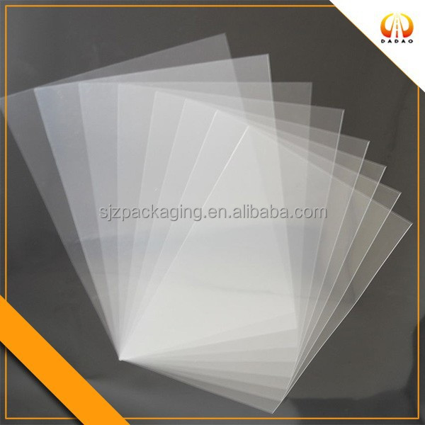 Transparent Matte Laminating Pouches Film