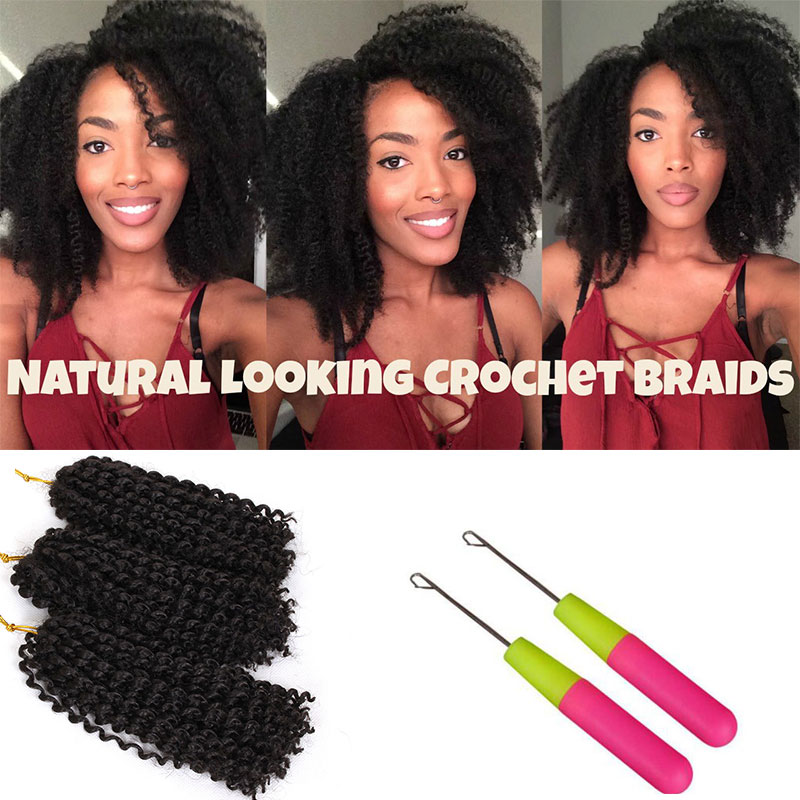 3pcs Set 8inch Ombre Mali Bob Twist Crochet Braids Short Hair
