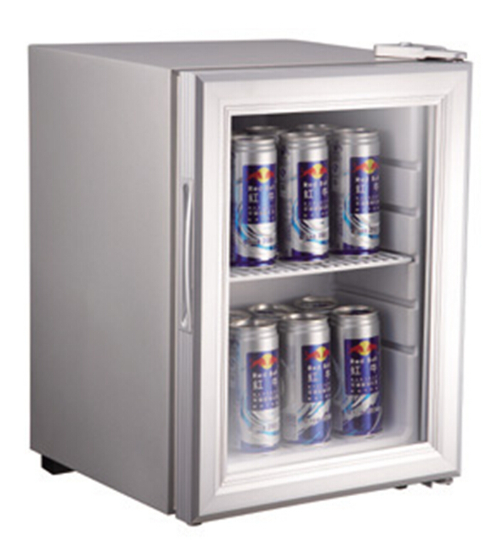 Desk Top Display Cooler Fridge Energy Drink Refrigerator Mini Showcase