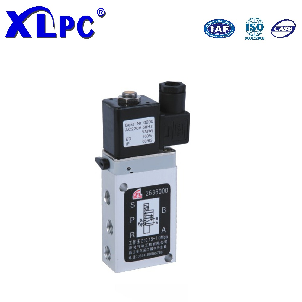 263 Series Cheap Air Inert Gases 5 Way Solenoid Valve DIN43650
