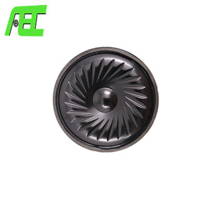 25 ohm 1W Mini woofer speaker Flat single speaker