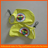 eye catching promotion car wing mirror flags