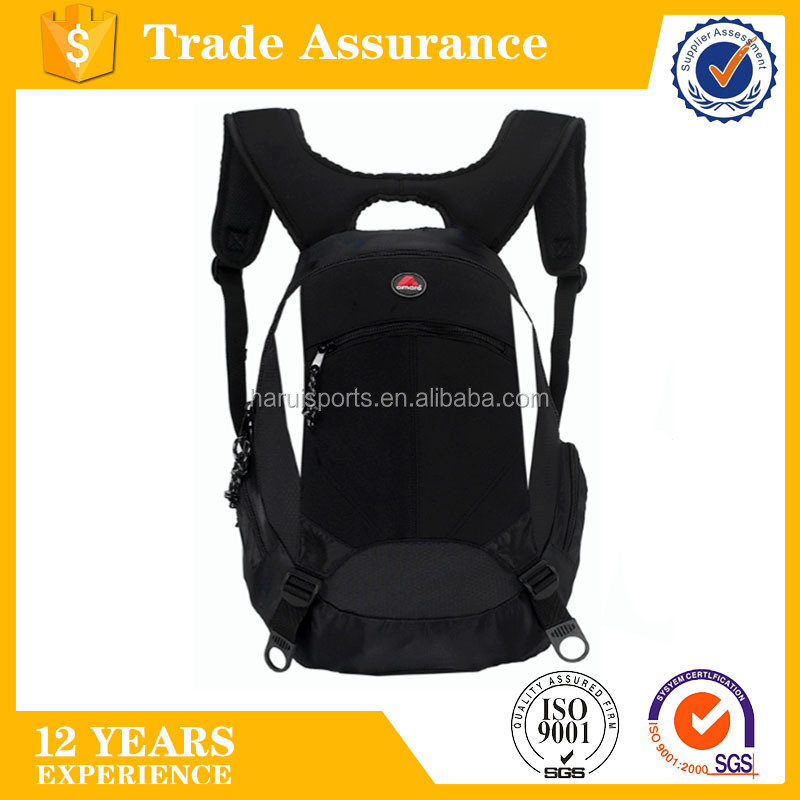 2017 new design 300D hexagon ripstop and 600D polyester standard size large main compartment spear backpack