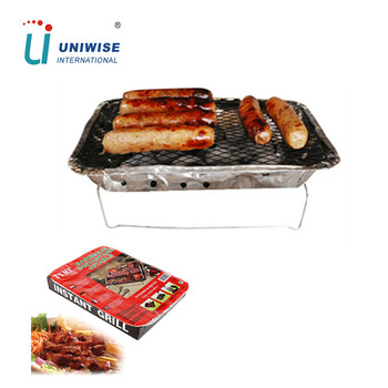 Professional Disposable One Time Use Bbq Grill
