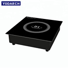 Kitchen Appliance 3.5KW Buffet Warmer Touch Control with Knob Electric Commercial Induction Built In Stove Cooker Hob for Hotpot
