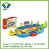 plastic game spin disk toy flying disk shooter toy