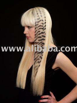 Wild Hair Extensions - Hair Tattoo Zebra