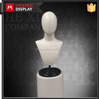 Abstract Male Head And Shoulders Mannequin