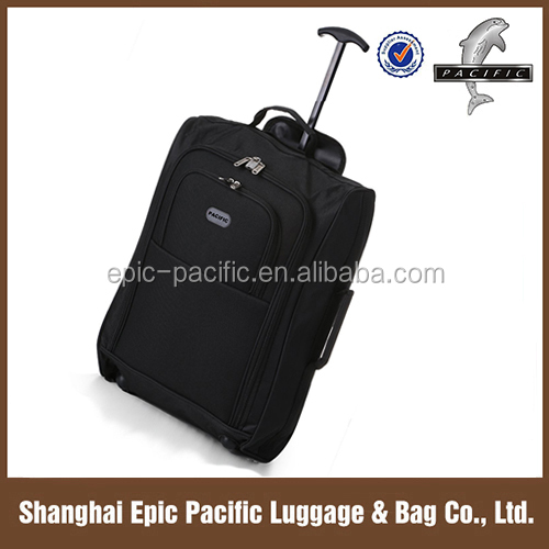 "21"" & 18"" On Wheeled Cabin Size Ultra-light Weight EVA Trolley Bag For Promotional"