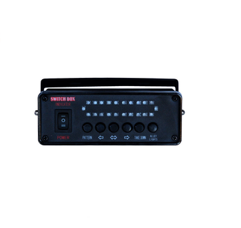 China supplier warning light control box, flash pattern controller box of warning light bar