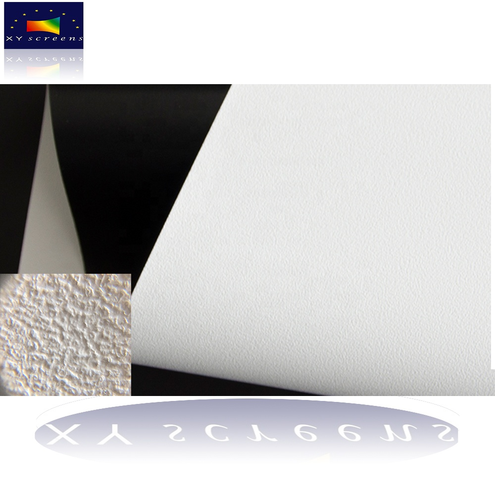 XYSCREENS high quality fabrics for electric/motorized/fixed frame/fast fold projector screen