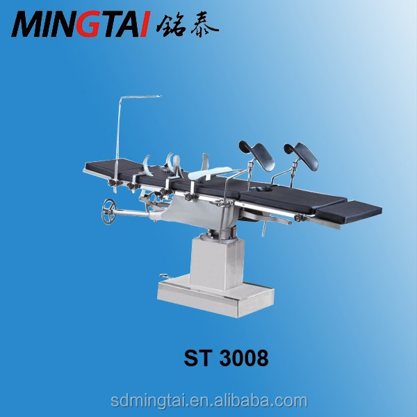 ST3008 manual hydraulic operating table surgical operating room bed for hospital room equipment