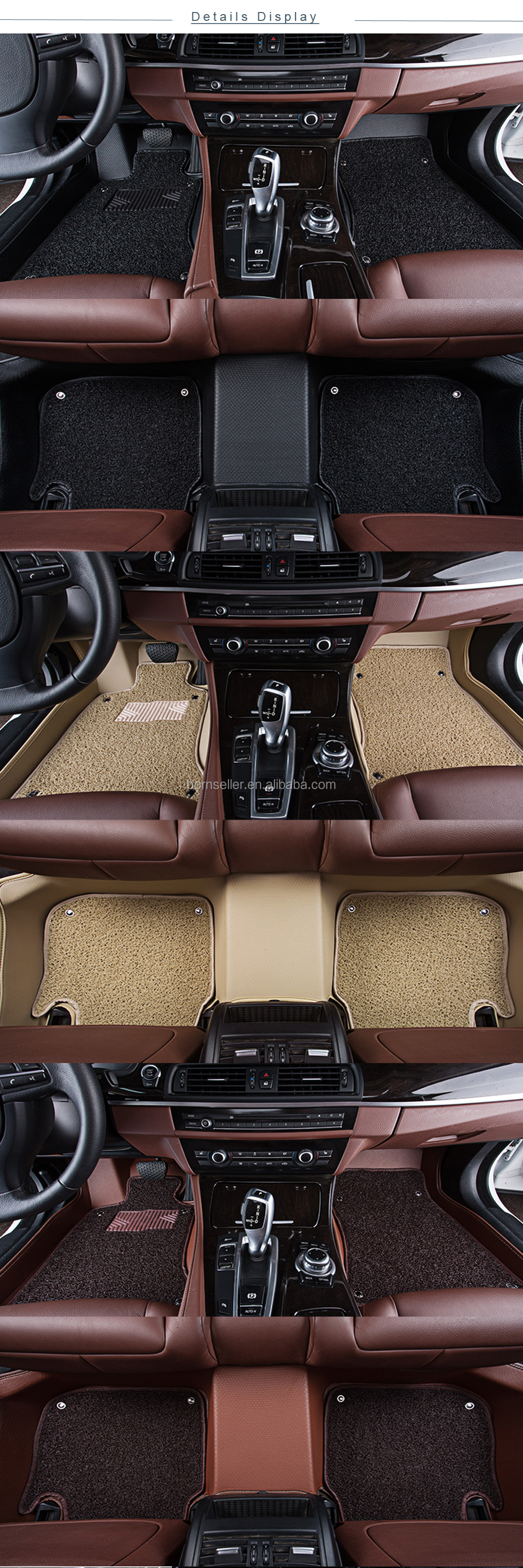 Best Selling Manufacturers Right Hand Drive 3d Mats For India Pe Car