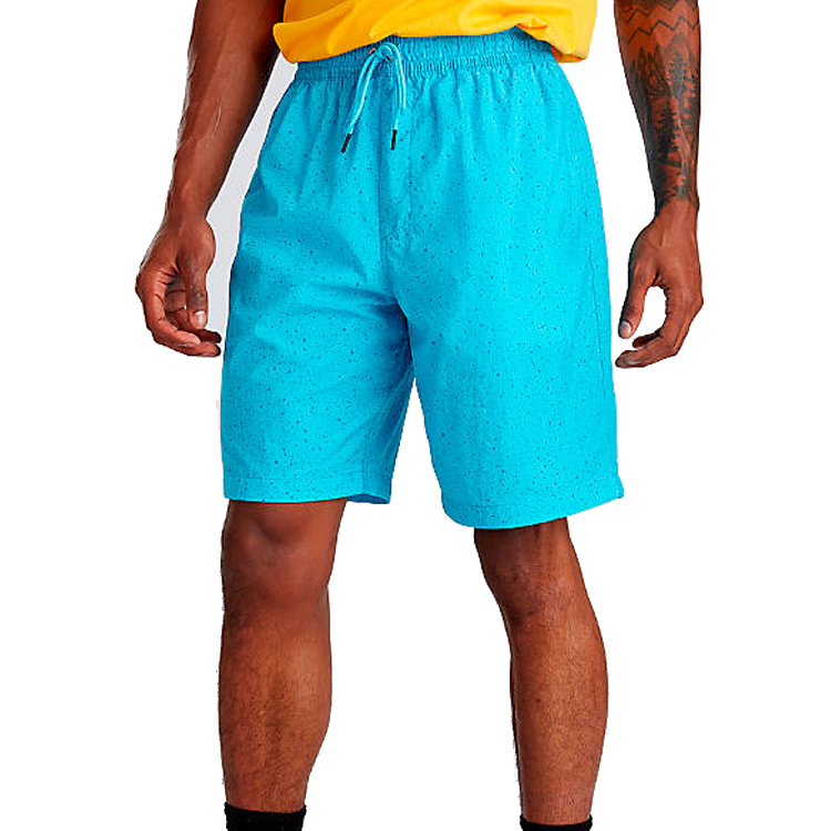 Custom mannelijke shorts koord polyester shorts running quick dry training shorts mannen